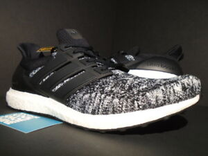 d25e564fa930a ADIDAS ULTRA BOOST M RCHAMP RC REIGNING CHAMP BLACK WHITE YEEZY OREO ...