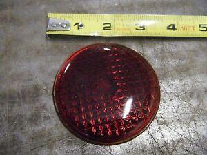 stadium 907 red lens round glass old rare