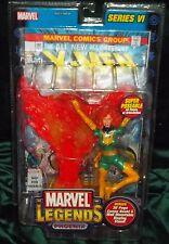 MARVEL LEGENDS SERIES VI X-MEN JEAN GREY PHOENIX FIGURE WITH COMIC TOY BIZ 2004