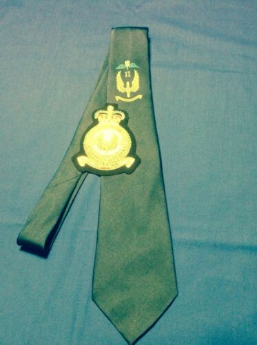 tie and blazer badge set RAF Regiment II Squadron Airborne