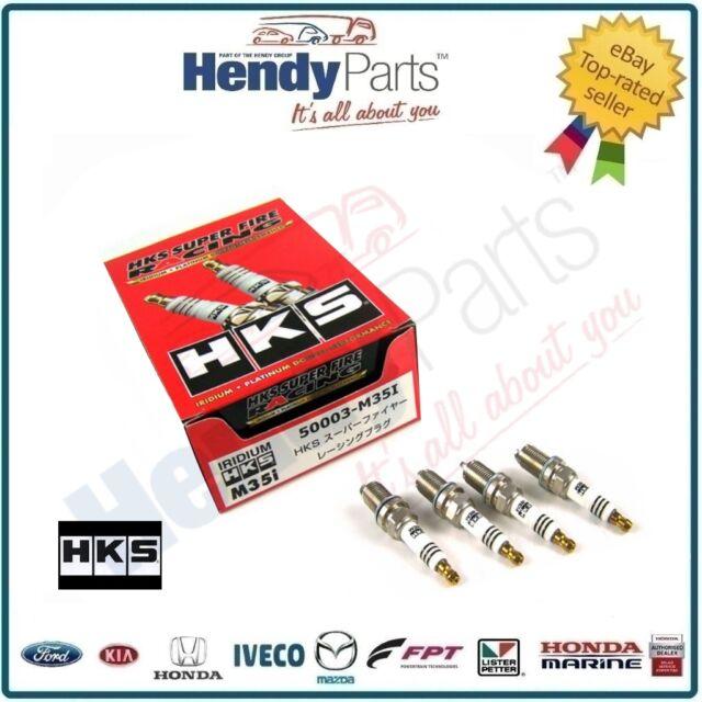 New HKS Superfire Racing Spark plugs (Set 4) HONDA Accord Euro R K20A CL7