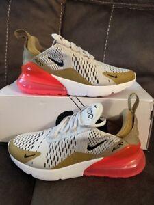 Nike Air Max 270 Gold Light Bone Hyper Punch AH6789 700 Women s Size ... 19324cf1e