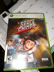 Space Chimps For Xbox 360 Very Good see pics, professionally cleaned free ship