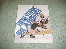 1982 New York Islanders v Buffalo Sabres Hockey Program Mike Bossy Cover 12/14