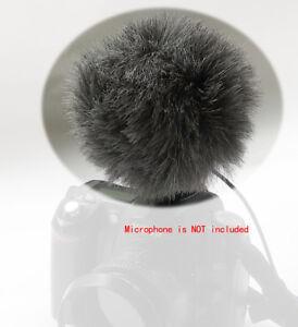 Furry-Windscreen-for-Sony-ECM-ALST1-ECM-MSD1-ECM-SST1-Panasonic-VW-VMS10