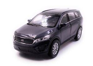 Kia-Sorento-voiture-miniature-voiture-anthracite-echelle-1-34-LGPL