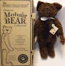 Boyds Mohair Bear Truman S. Bearington  #590010-05 NIB #5873