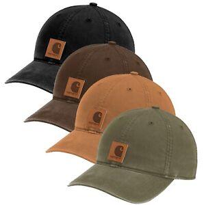 Carhartt-Mens-Odessa-Cap-Adjustable-Hat-Carhartt-Brown