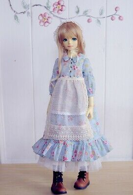 Shirt Dress for 1//4  BJD MSD  Girls Doll Dress Up PICK Summer Cool T