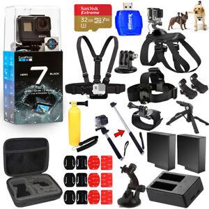 nouveau style nouveau style de vente limitée Details about GoPro HERO7 HERO 7 Black All In 1 MEGA ACCESSORY BUNDLE for  ALL Occasions NEW