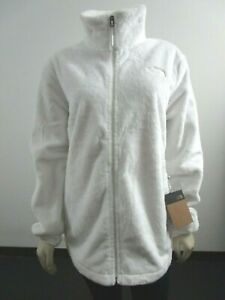 NWT Womens The North Face Osito Midweight Soft Fleece Full Zip Jacket Mid Grey