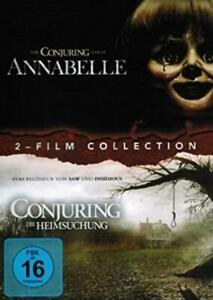 Annabelle-amp-Conjuring-Die-Heimsuchung-DVD-NEU-OVP