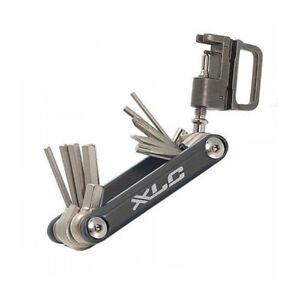 XLC-Multi-Mini-Tool-TO-M07-Fahrrad-Werkzeug-15-teilig-Kettennieter-Faltwerkzeug