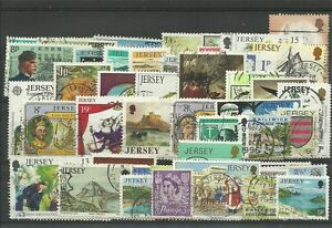 Lot de 50 timbres de Jersey - France - Qualité: TTBE Région: Europe - France