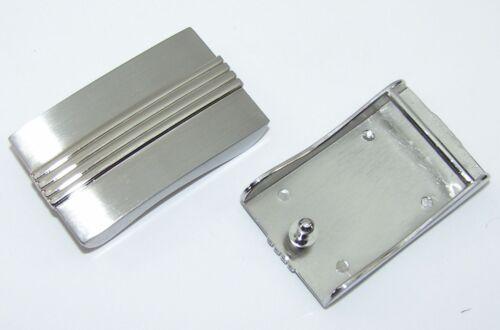 1 Schließe  Gürtelschnalle Schnalle 3,5 cm silber 00.119//760