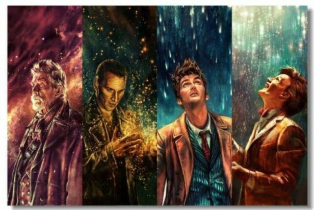 Poster doctor Who DW TV New Season Bells Club Wall Art Print 234