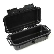 "New 8"" Weatherproof Marine Hard Shell Cigar Caddy Dry Case Rubber Interior Boat"