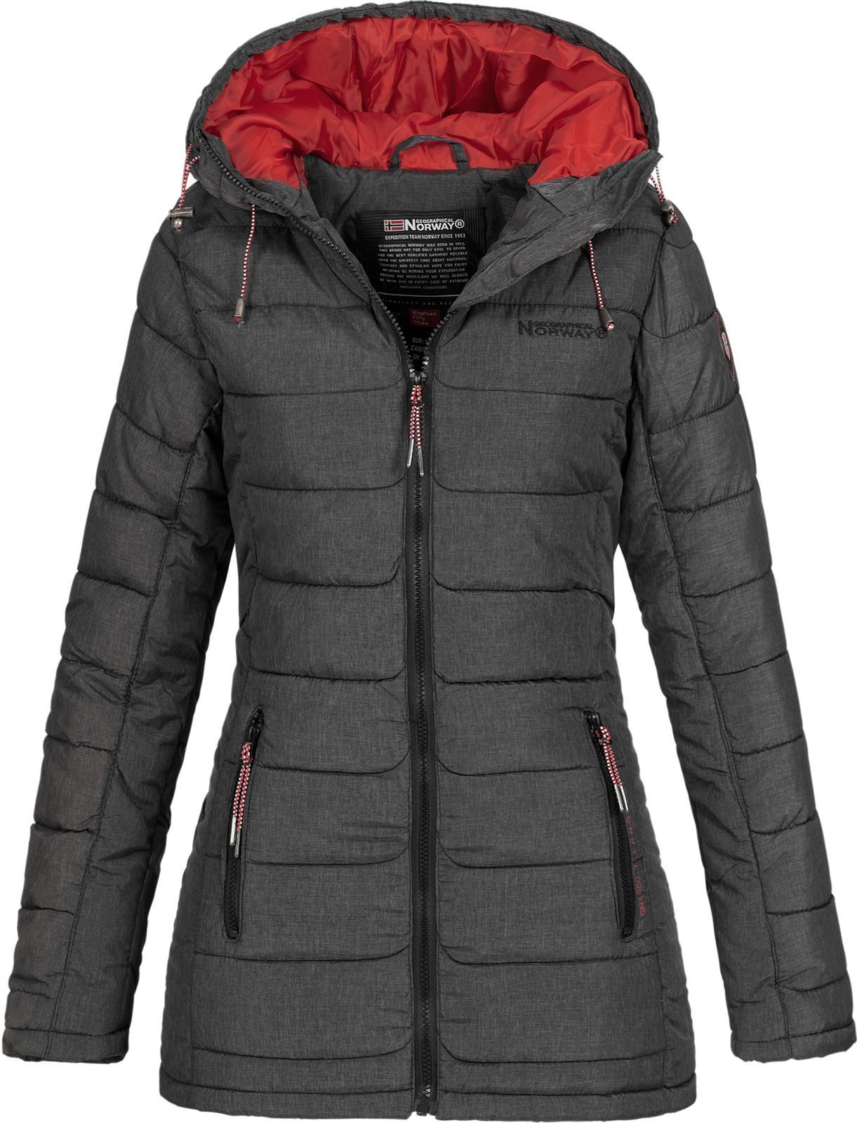 Geographical Norway Donna Giacca Trapuntata steppmantel
