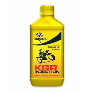 Olio motore moto e scooter 2 tempi KGR INJECTION 1 litro Bardahl