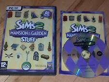 The Sims 2 Mansion & Garden Stuff Expansion Pack PC CD ROM / Windows