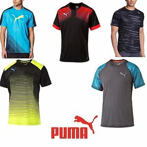 8d634063ba5 New Puma Men Tee Sports Training football Running GYM T-Shirt Crew ...
