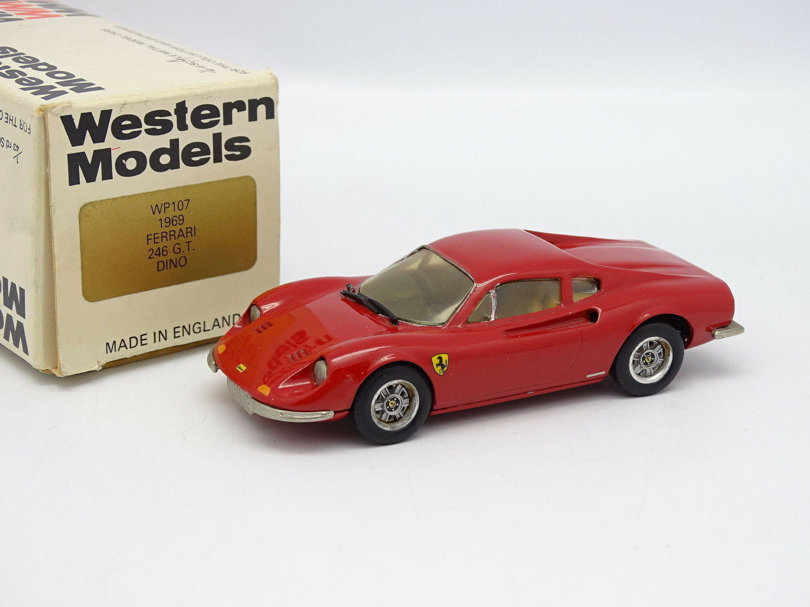 Western Models 1 43 - Ferrari Dino 246 GT rosso