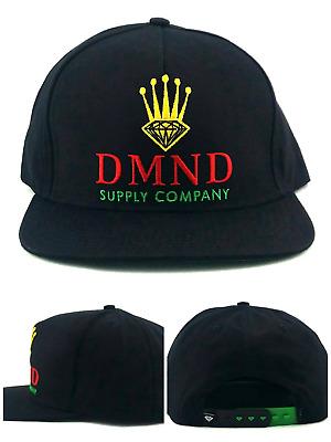 Diamond Supply Company New Crown DMND Black Gold Red Era Snapback Hat Cap