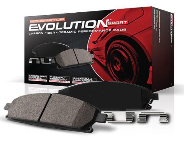 Power Stop Z23-976B Z23 Evolution Front Carbon-Fiber Ceramic Brake Pads