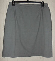 Womens Cricket Lane Collection By Koret Black & White Lined Skirt Size 18
