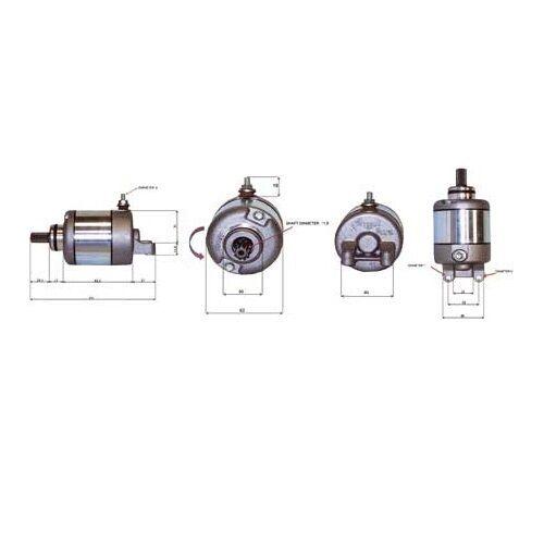 Generoso 40250148 Motorino Avviamento Teknoetre Kimko 150 Agility 150 4t R16 2008 08 I Clienti Prima Di Tutto
