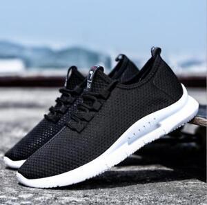 Men-comfortable-sports-sneaker-jogging-walking-mesh-breathable-lace-up-shoes