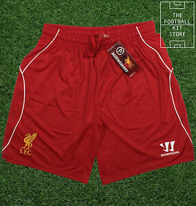 Liverpool-Home-Shorts-Official-Warrior-Football-Shorts-Mens-All-Sizes