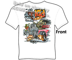 Hot Rod T Shirts >> Rat Fink Hot Rod T Shirts Junk Yard Rat Fink Shirts Big Daddy