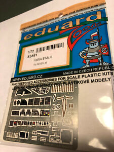 Eduard-SS561-Photoetch-Set-For-1-72-Revell-Halifax-B-Mk-III