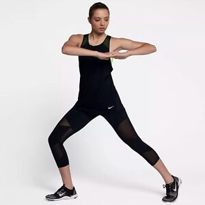 d609b824fbda  80 New Nike Fly Power Lux Tight Fit Women s Training Crops Tights ...
