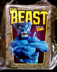 Bowen-Designs-X-Men-Beast-Bust-Statue-New-from-2002-Factory-Sealed