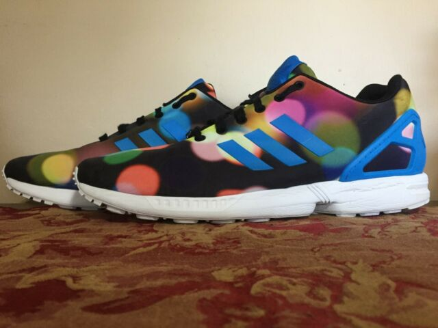 Adidas ZX Flux City Lights Multi Color Athletic Shoes Men's Size 13 (B23984)