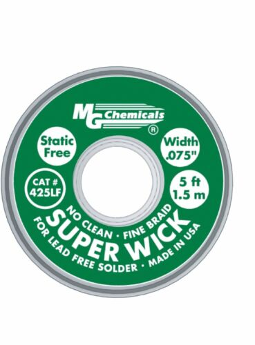 MG Chemicals 425-LF Series #3 High Temperature Super Wick For Lead Free Solder