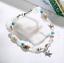 Shell-Crystal-Conch-Tassel-Beads-Anklet-Bracelet-For-Women-Bangle-Silver-Chain thumbnail 2