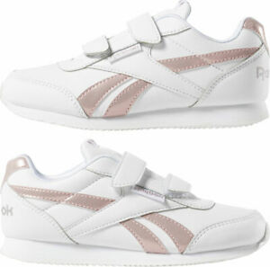 Details zu Reebok Klassisch Mädchen Schuhe Sneaker Kinder Königsblau Jogger 2.0 2V Umriss
