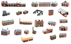 N-scale-plastic-building-kits-Kestrel-Design-53-different-models-free-port