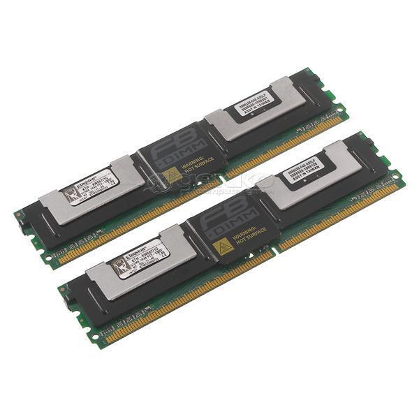 Kingston DDR2-RAM 1GB-Kit 2x512MB PC2-5300F ECC 2R - KTH-XW667/1G DL580 G5