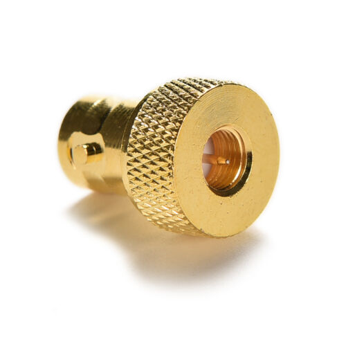 BNC female jack to SMA male plug RF connector straight gold plating Adapter CYCA