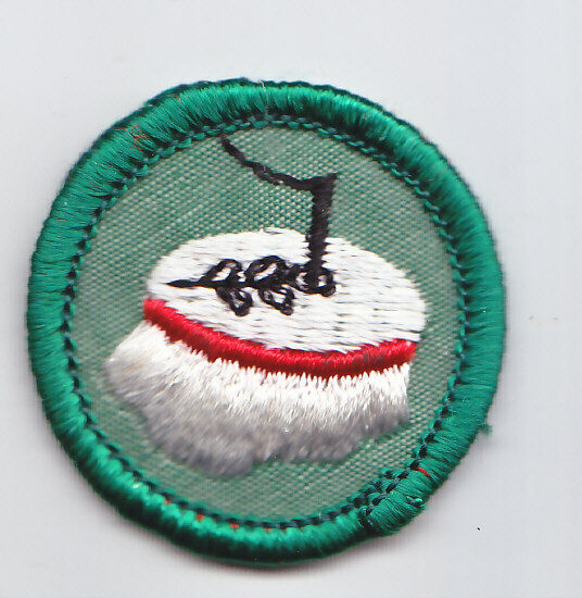 VINTAGE 1963-80 Girl Scout Junior Escursionista BADGE Bastone da passeggio Patch scegliere ANNO