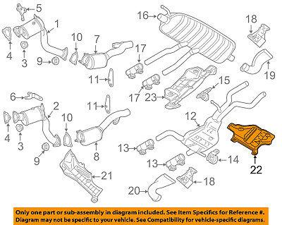 3.6L-V6 Exhaust-Intermed Pipe Stud GMC GM OEM 15028620