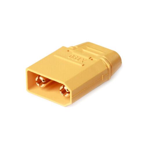 2 Paar XT90-Batterieanschluss-Set 4,5-mm-vergoldeter Bananenstecker DBSD
