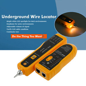 Telephone-Network-Cable-Tester-RJ45-RJ11-Wire-Tracker-Tracer-Line-Finder-3km-NEW