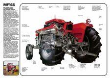 DAVID BROWN 770 780 880 990 IMPLEMATIC CUTAWAY SALES BROCHURE//POSTER ADVERT A3