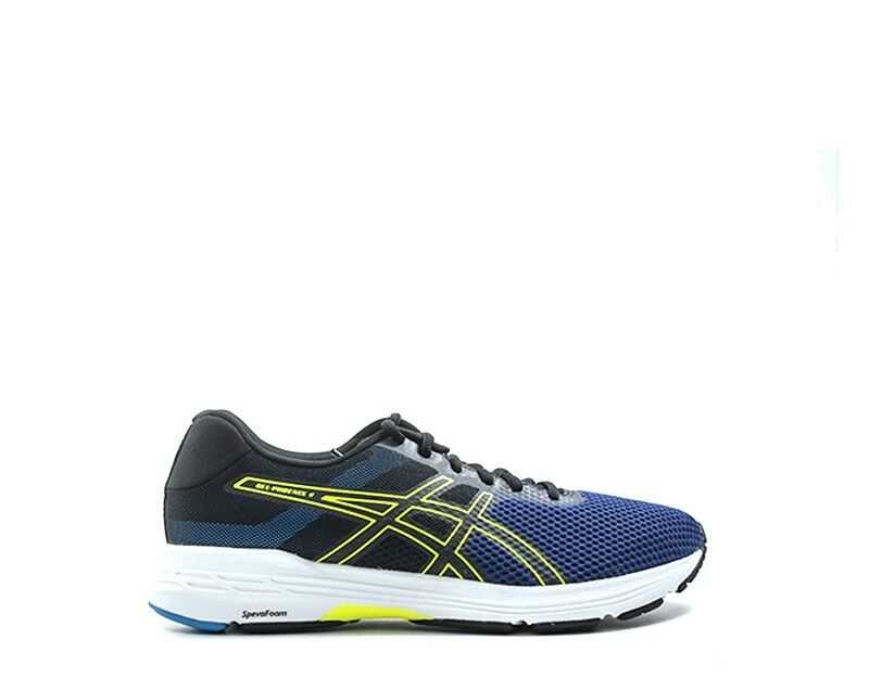 Asics men shoes  blue pu, fabric t822n-400  fast delivery
