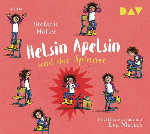 Stefanie Hofler Helsin Apelsin Und Der Spinner 4 Audio Cd Horbuch Ebay